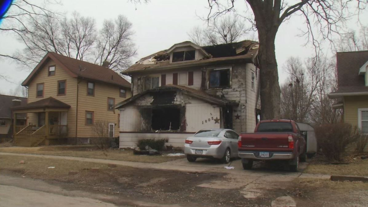 The Cedar Rapids Fire Department said in a news release, one male received medical treatment after flames broke out at 1605 K Avenue NE.