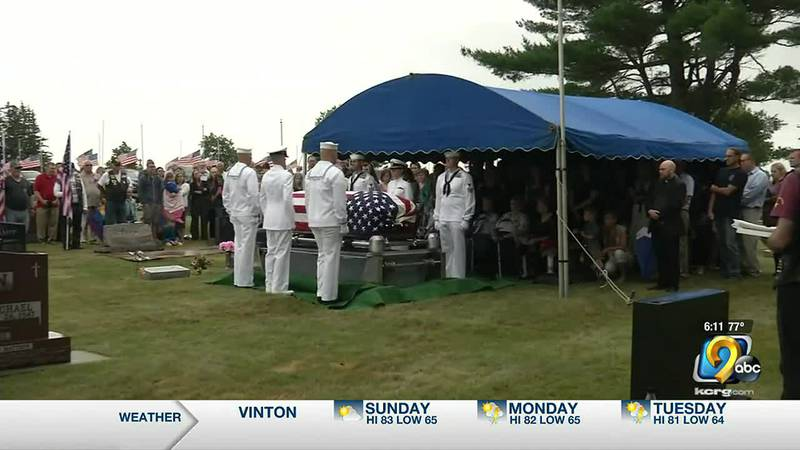 WW2 sailor killed in Pearl Harbor attack laid to rest nearly 80 years later