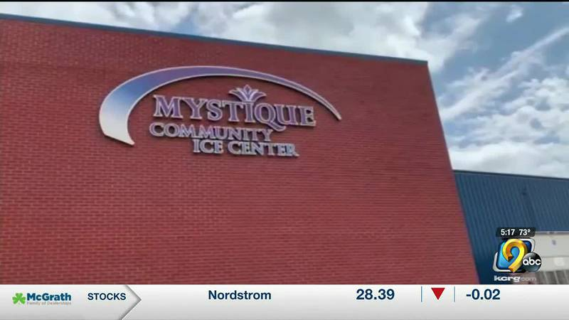 The city of Dubuque will become the interim manager of the Mystique Community Ice Center...