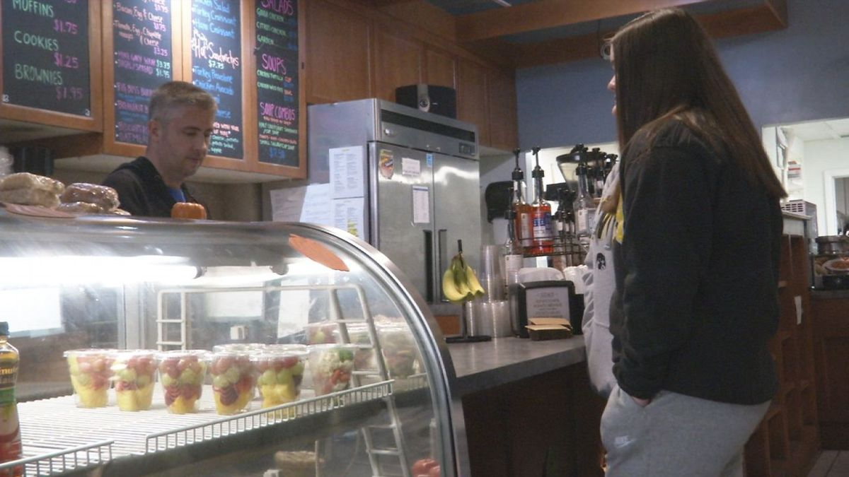 Downtown coffee shop celebrates one year of new ownership