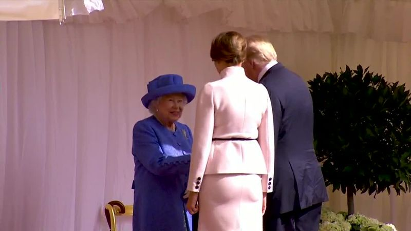 CNN's Max Foster explores Queen Elizabeth's history of meeting U.S. presidents, from Harry S....