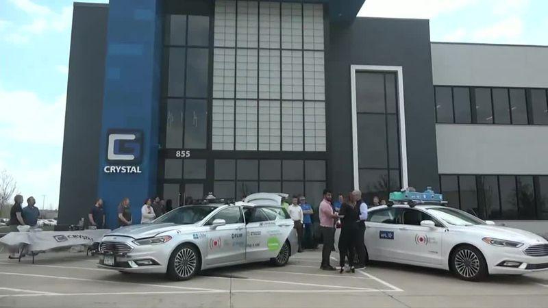 Autonomous cars visit Eastern Iowa