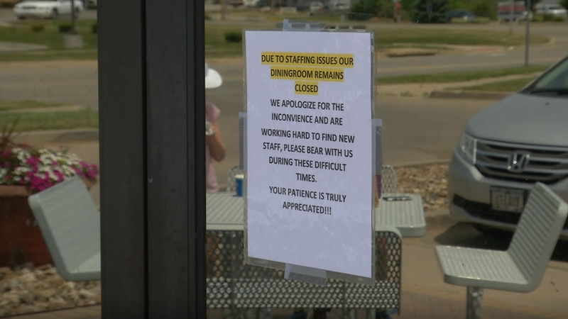 Solon Businesses see short staffed issues