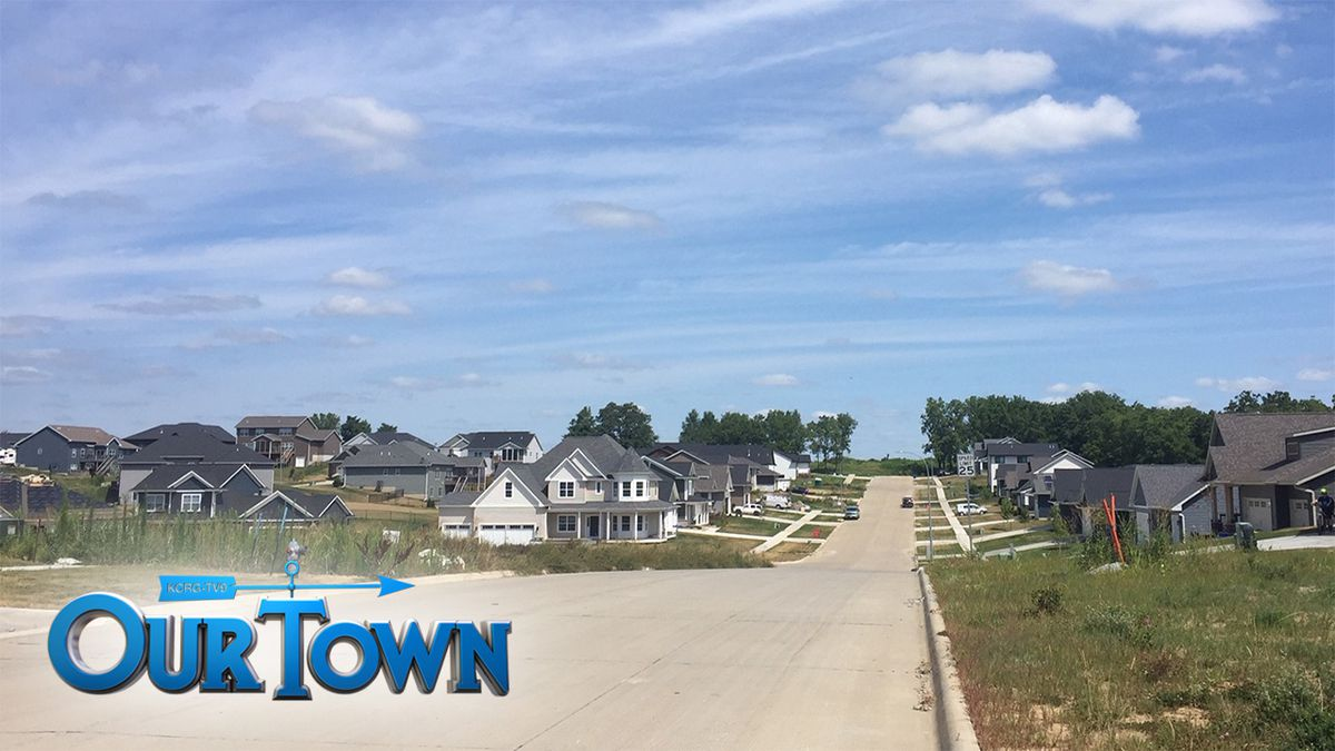 New housing developments are popping up all over Tiffin (Jackie Kennon/KCRG)
