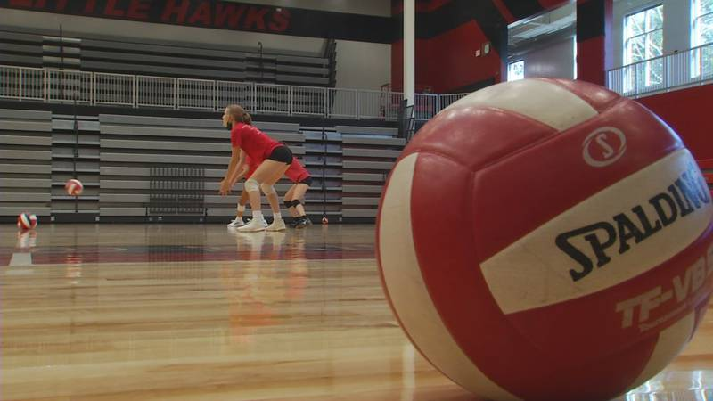 The City High volleyball team held their first practice ahead of their home opener on Tuesday...