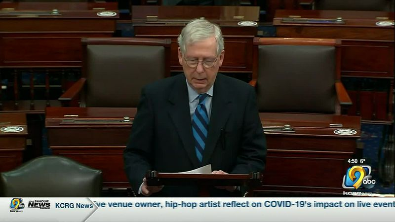 Senate Majority Leader Mitch McConnell now says the President is partially responsible for the...