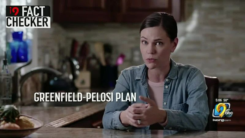 i9 Fact Checker: Republican attack ad jumps to conclusions on a public option in healthcare