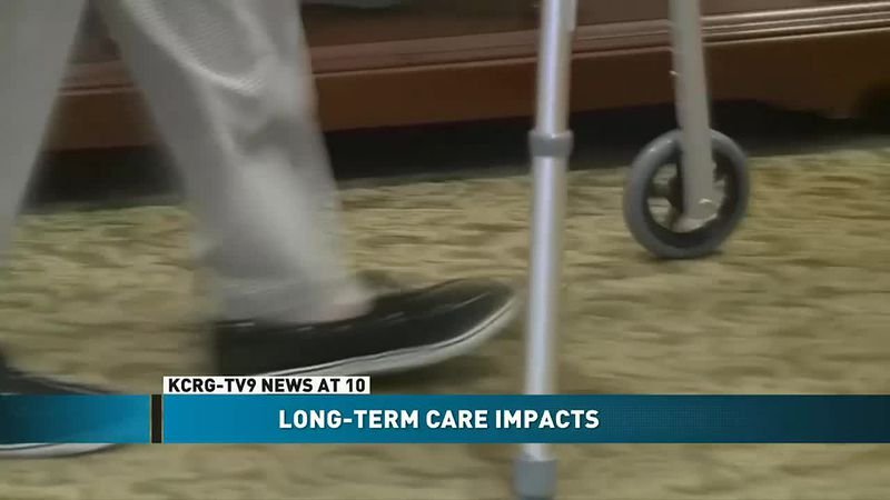 Despite vaccination, care facility resident continue to wait to see family