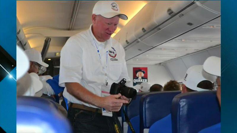 Allen Stekl honored for volunteer efforts with Eastern Iowa Honor Flight