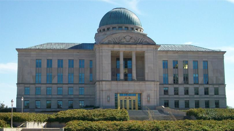 The Iowa Judicial Branch Building, which holds Iowa's Supreme Court, in Des Moines (Photo: Wikimedia Commons / Ctjf83 / CC BY-SA 3.0)