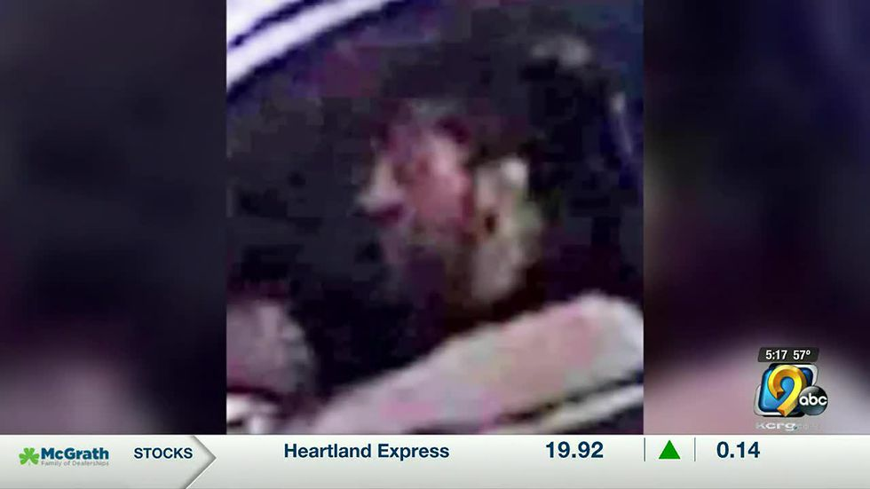 Police look for driver who seemingly hit motorcyclist on purpose in Cedar Rapids