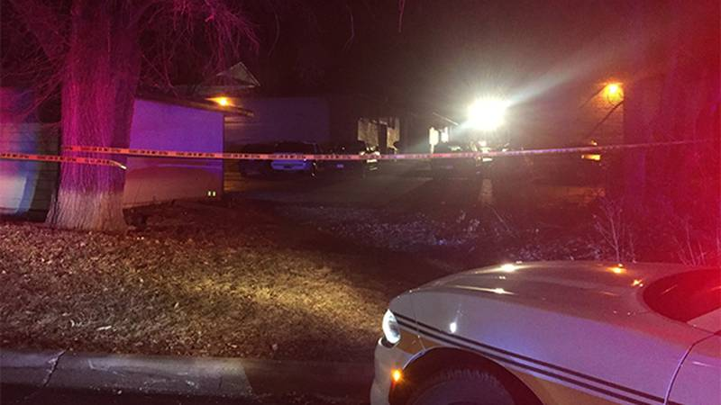 Police respond to a shooting on Boston Way in Coralville on Christmas night, December 25, 2019....