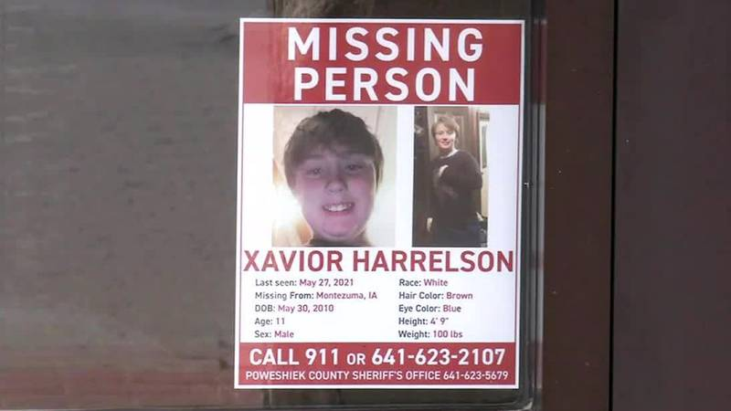 In Montezuma, downtown windows are full of posters about Xavior Harrelson, the 11-year-old boy...
