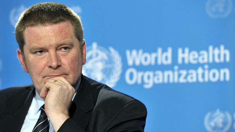 Michael Ryan, WHO Director of Global Alert and Response of the World Health Organization (WHO),...