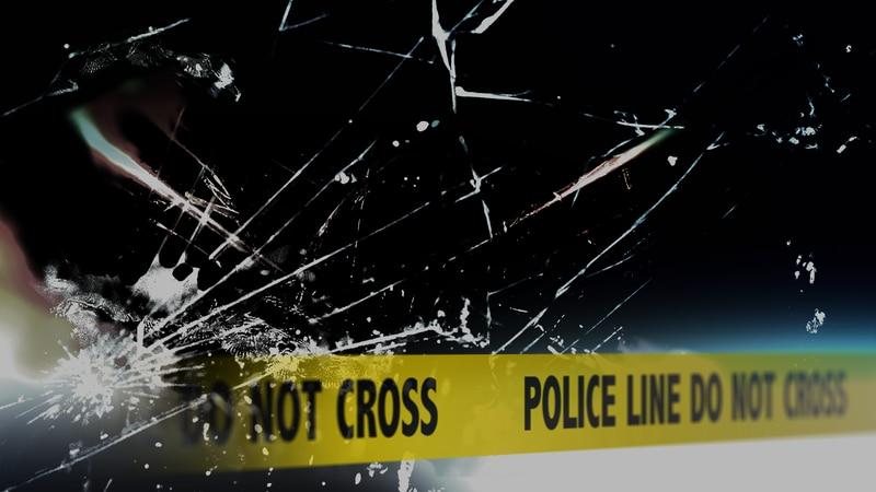 A roadway crash.