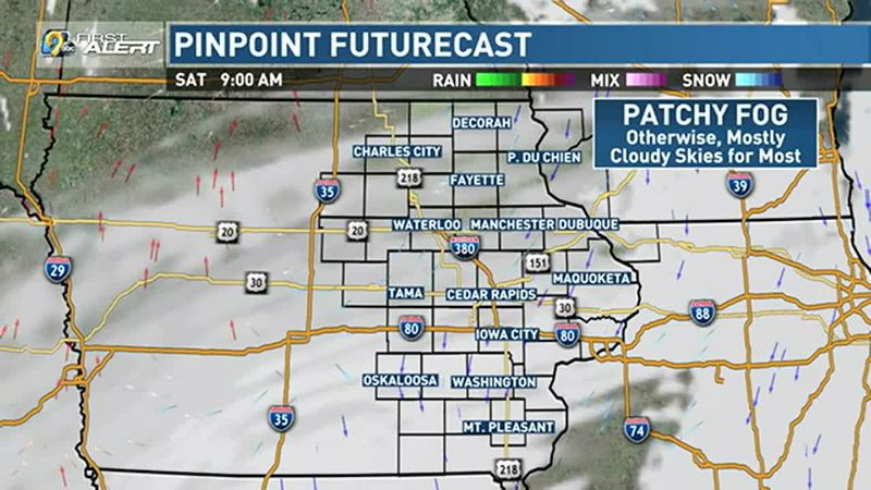 Gray skies will generally be found today.