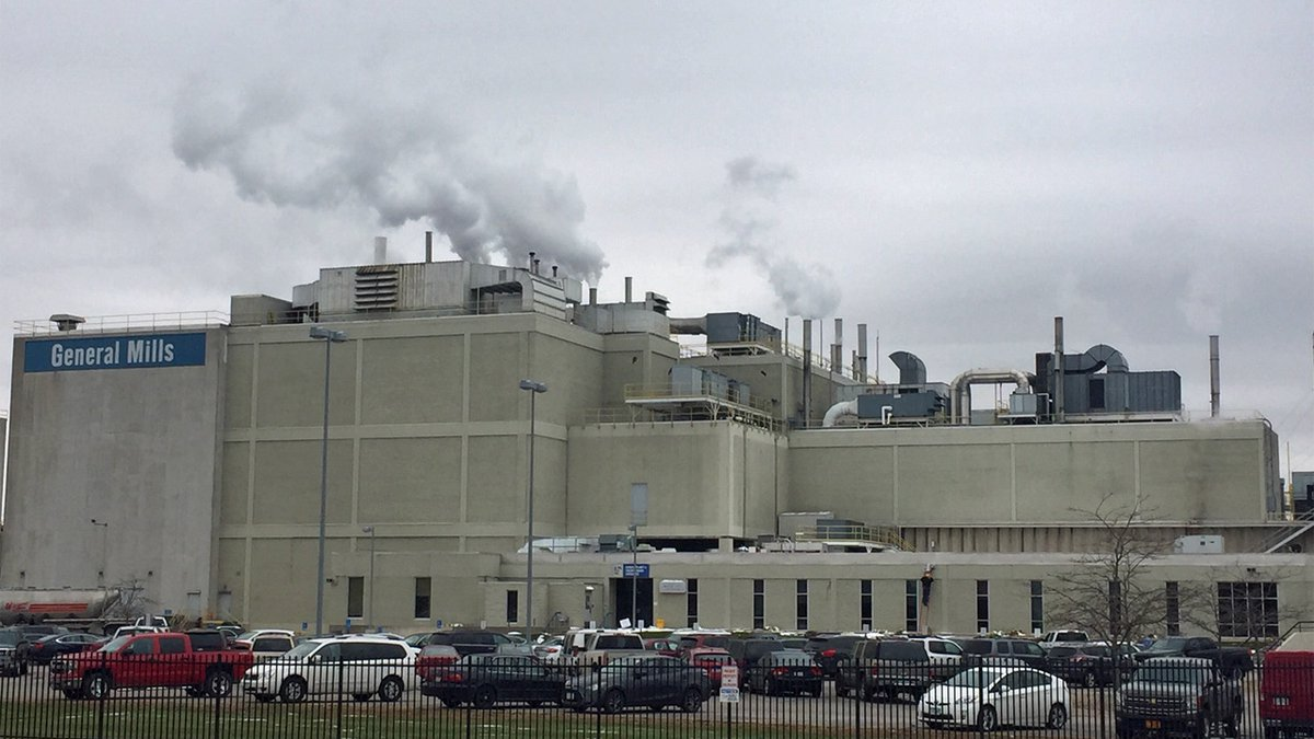 The General Mills production facility in Cedar Rapids on Friday, Nov. 1, 2019 (Jackie...