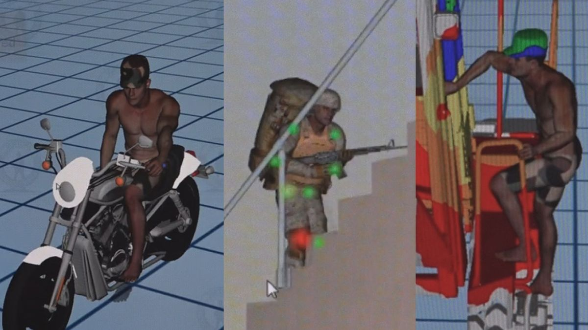 """""""Santos,"""" the virtual soldier created at the University of Iowa's Center for..."""