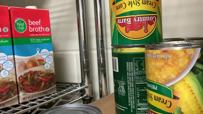 Last month, the Alta Vista food pantry served close to 400 people.