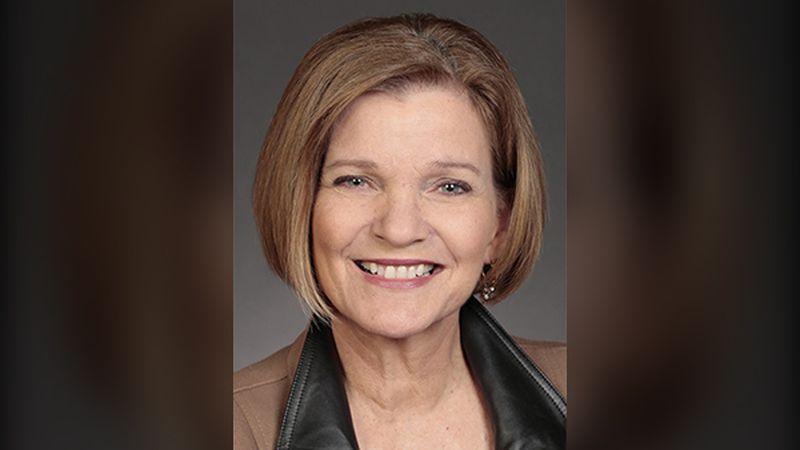 Liz Mathis, a Democratic state senator for Linn County's District 34.