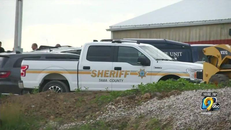 """Violent death"" investigation in rural Tama County"