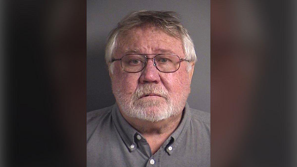 Roy Browning, Jr., 67, of Iowa City (Courtesy: Johnson County Jail)