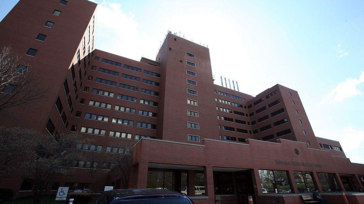 The Iowa City Veterans Affairs Medical Center Tuesday, March 20, 2012. (Brian Ray/The Gazette/KCRG-TV9)