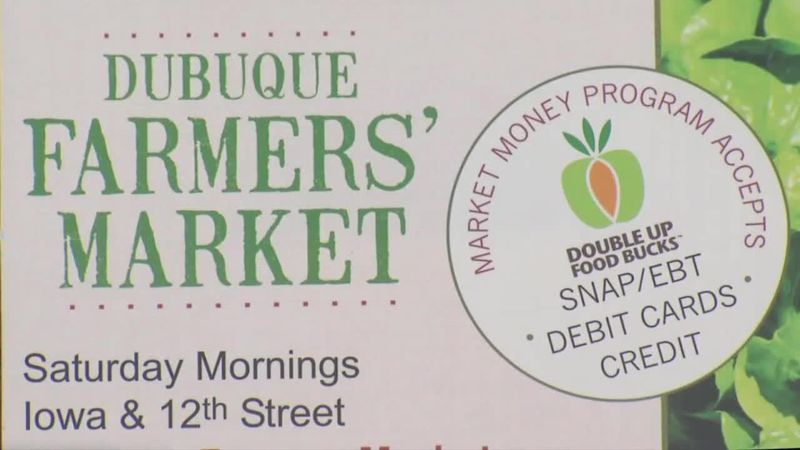 The 176th edition of the Dubuque Farmers' Market kicks off Saturday, May 1 at 7:00 a.m.
