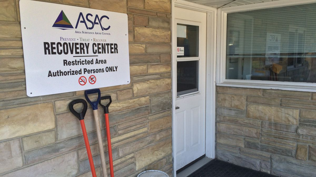 The recovery  center at the Area Substance Abuse Council office in Cedar Rapids.  ASAC received...