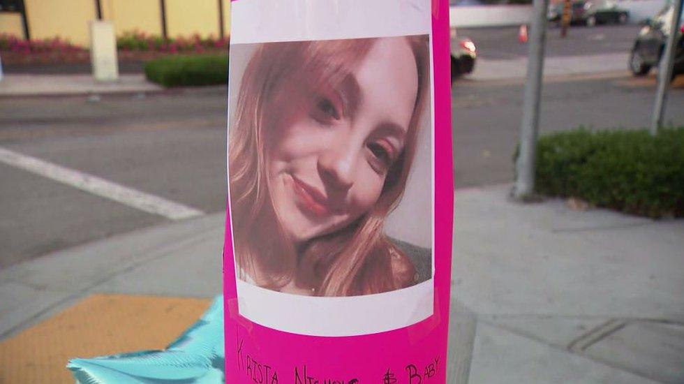 Krista Nichols, a 23-year-old woman who was 8 months pregnant, died in a three-car crash....