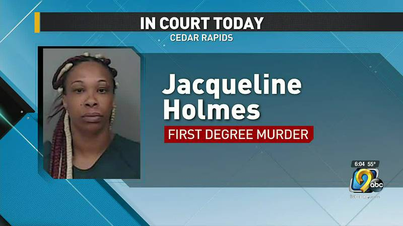 A woman charged with stabbing and killing her boyfriend more than a year ago in Cedar Rapids is...