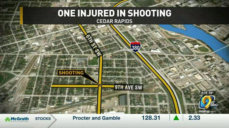 Southwest Cedar Rapids shooting.
