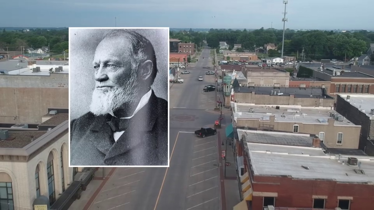 J.B. Grinnell founded the town of Grinnell, Iowa, in the 1850's.