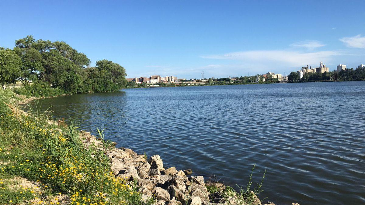 Cedar Lake in Cedar Rapids on June 25, 2019 (Mary Green/KCRG)
