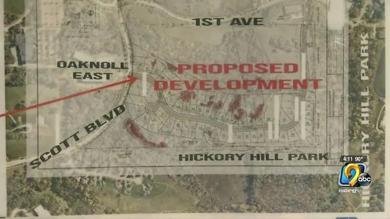 Hickory Hill Development in Iowa City.