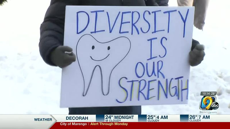 University of Iowa dental students hold protest over diversity, equity, and inclusion concerns