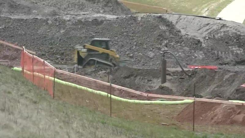 Flood control project underway in Czech Village