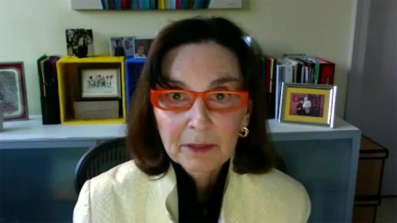 Susan Farber participates in an interview via videoconference on Monday, Mar. 1, 2021.