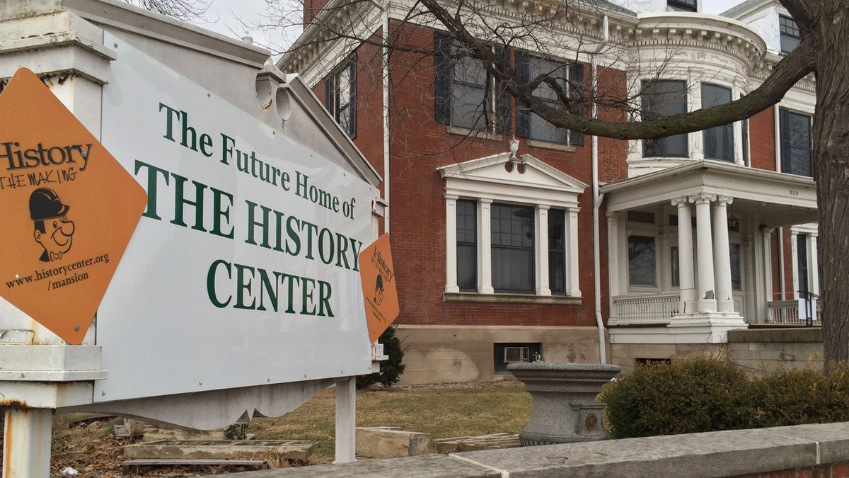 The History Center in Cedar Rapids, Iowa on Wednesday, January 11, 2017. (Dave Franzman/KCRG-TV9)