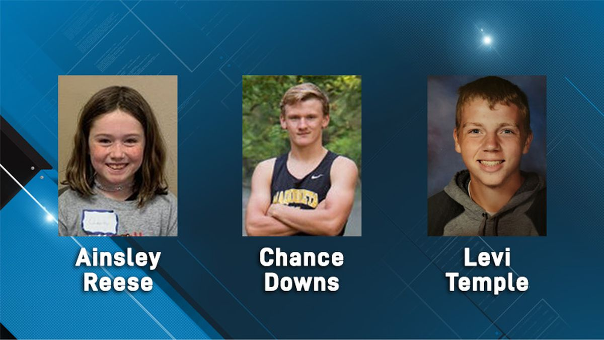 February 2020's Student of the Month candidates: Ainsley Reese, Chance Downs, Levi Temple...