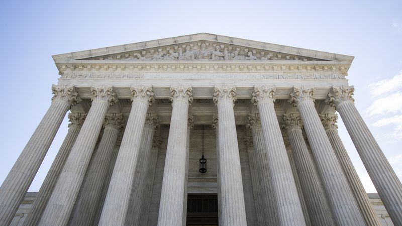 FILE - In this June 30, 2020, file photo the U.S. Supreme Court is seen in Washington....