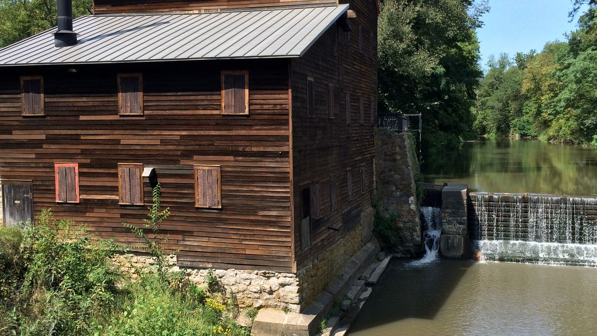 A picture of Pine Creek Grist Mill in Muscatine County taken on Friday, September 1st, 2017. (Dave Franzman, KCRG-TV9)