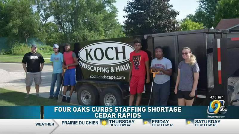 Koch Landscaping and Four Oaks program.