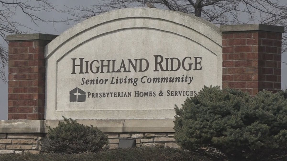 Highland Ridge Senior Living sits in Williamsburg and is looking for pen pals for its residents during covid-19 social distancing on Wednesday, April 1st, 2020. (AARON HOSMAN//KCRG)