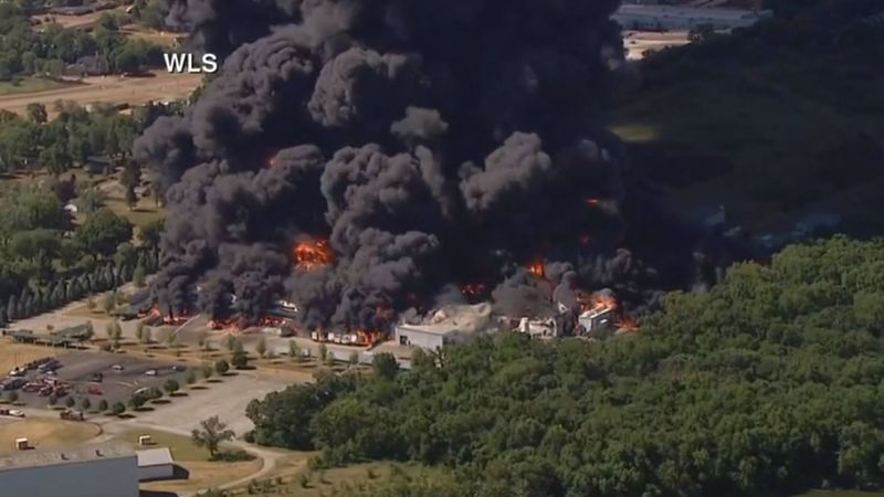 A 2-mile radius of the Chemtool plant in Rockton is under a mandatory, full-scale evacuation.