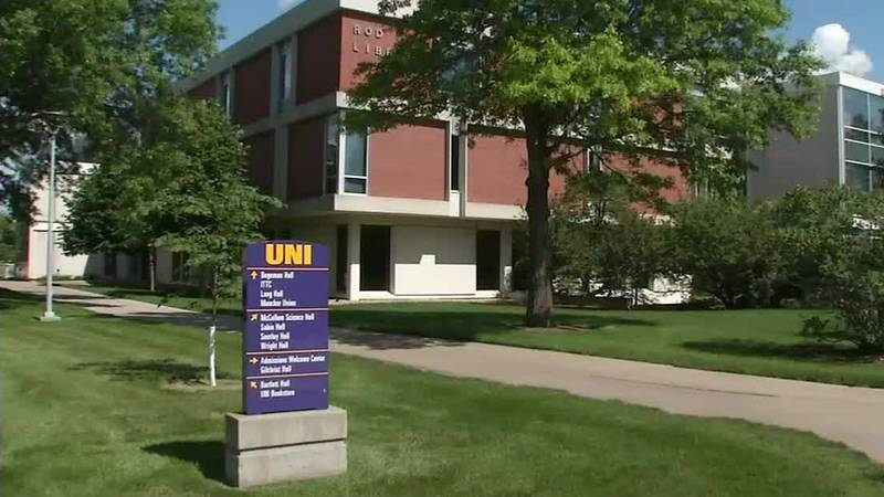 The University of Northern Iowa campus.