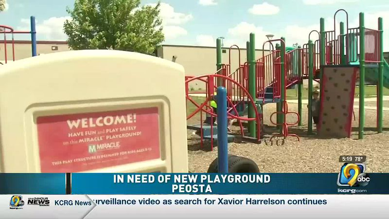 Parents say they need $100,000 to build a more accessible playground.