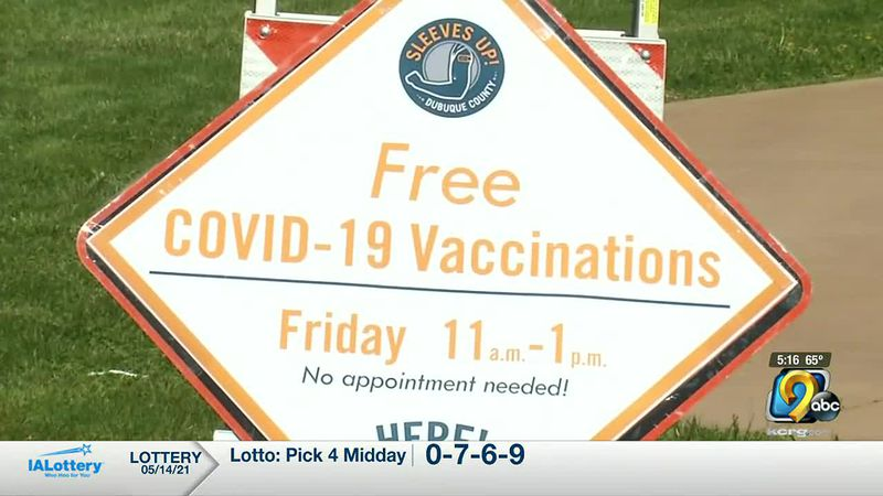 UnityPoint-Health Finley hospital staff were prepared to vaccinate around 200 people on Friday.