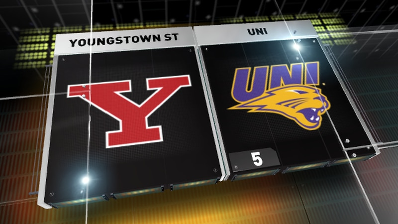 UNI shuts out Youngstown St 21-0