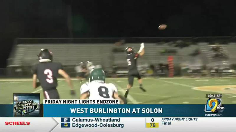 Solon runs wild over West Burlington and takes a 56-0 win on homecoming